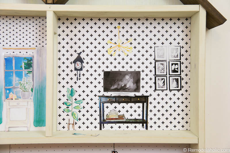 Dollhouse With Building Plan And Free Printables 16