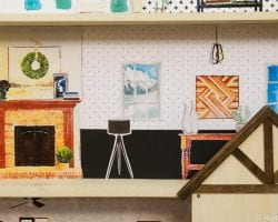 Dollhouse With Building Plan And Free Printables 18
