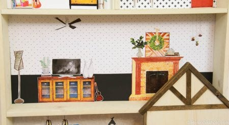 Dollhouse With Building Plan And Free Printables 7