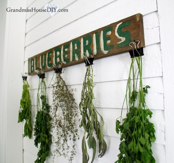 Herb Dry Rack Binder Clips
