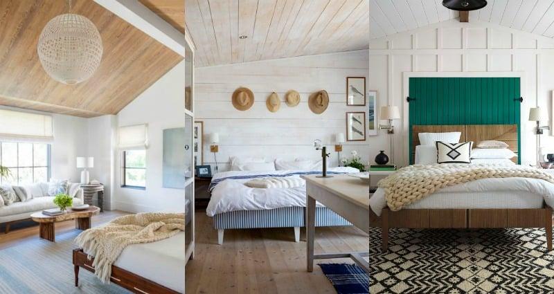 Remodelaholic | Modern Coastal Bedroom Decor Tips & Inspiration