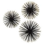 Modern Coastal Bedroom Sea Urchin Wall Decor