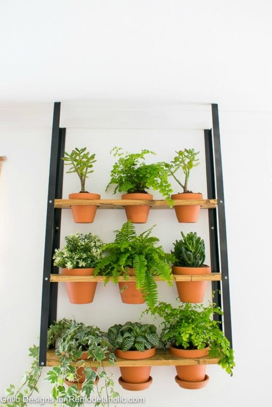 Simple Industrial Wall Planter