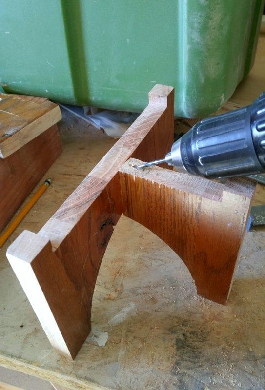 Wood Base Diy Planter