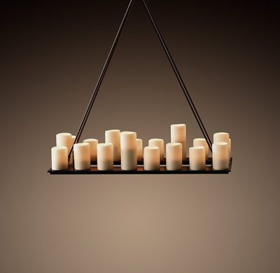 1 restoration hardware candle chandelier a diy alternative by the creative home featured on