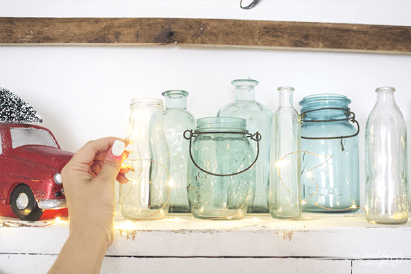 20 Copper String Lights Make Great Holiday Lighting, By We Lived Happily Ever After Featured On @Remodelaholic