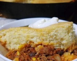 one skillet chili and cornbread 4