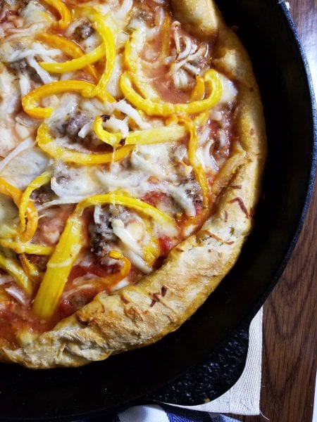 one pan deep dish pizza 3