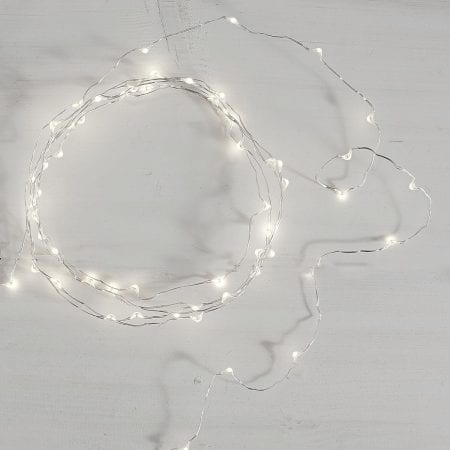 Pure White LED Glimmer Strings®