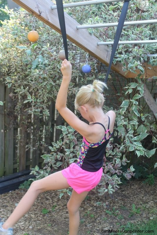 Build Your Own Backyard Ninja Obstacle Course, American Ninja Warrior Straps, By Girl Meets Carpenter Featured On @Remodelaholic