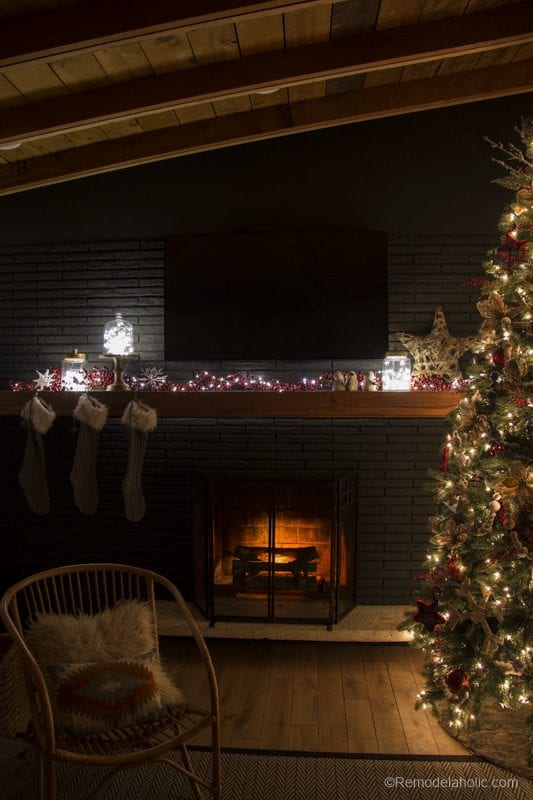 Christmas Mantel With Pier1 Remodelaholic 19 Of 20