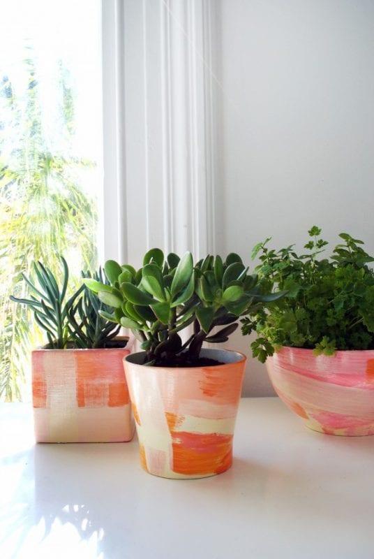 DIY Plant Pots We Are Scout