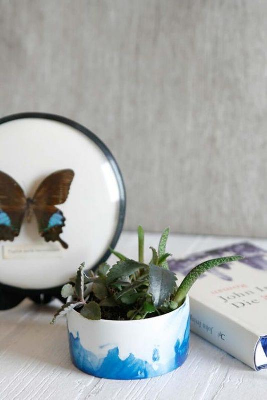 DIY Plant Pots We Must Be Dreamers