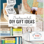 DIY Sentimental Gifts Featured On Remodelaholic