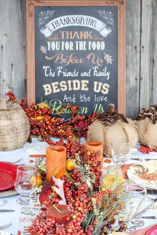 Fall Thanksgiving Tablescape Idea 10 533x800