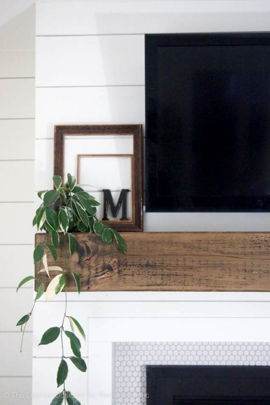 Fireplace And Mantle Makeover The Learner Observer For Remodelaholic 6