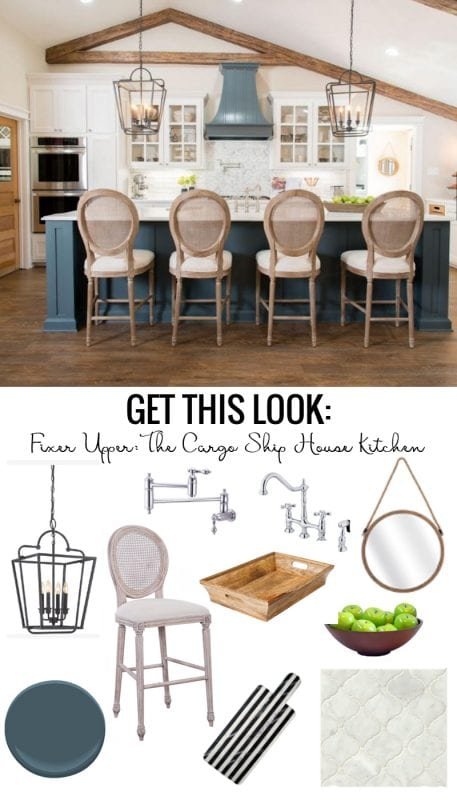 Fixer Upper Cargo Ship House Kitchen