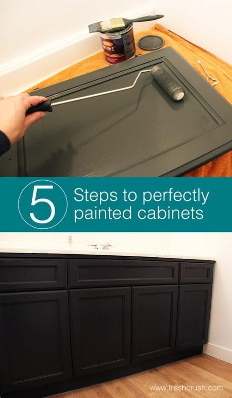 Fresh Crush, Painted Cabinet Tips