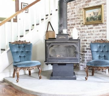 Friday Favorites: Concrete Hearth and Pallet Snowflakes