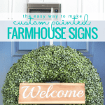 Make Your Own Custom Hand Painted Farmhouse Signs With This Easy Tutorial Plus Free Templates To Get You Started @Remodelaholic 768x1536