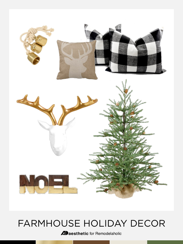 Neutral Farmhouse Holiday Decor