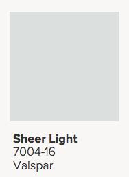 Valspar Sheer Light