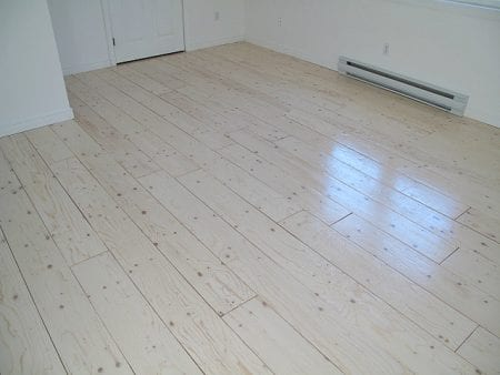 Sharktails, Plywood Flooring