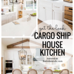 This Is Such A Fab Makeover By Chip And Joanna Of The Cargo Ship House Kitchen. Get The Look At Remodelaholic.com
