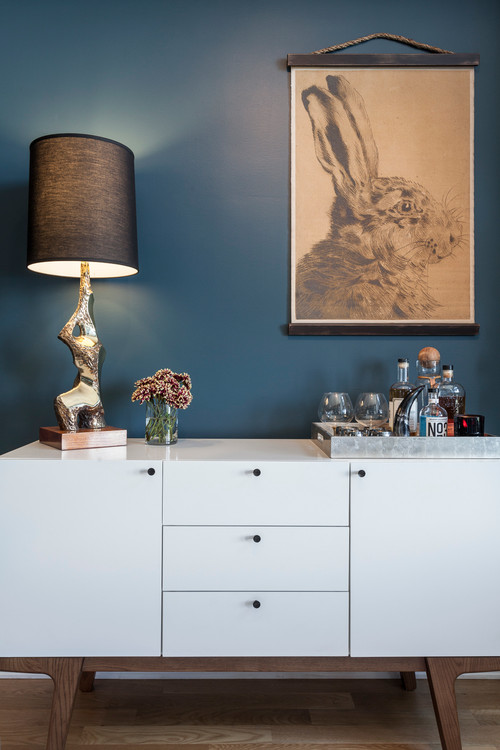 Wall Color Is Benjamin Moore Newburg Green. Color Spotlight On Remodelaholic