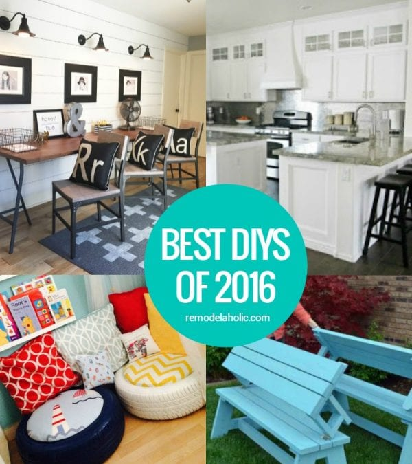 Best DIYs Of 2016 Crop @Remodelaholic
