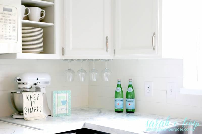 Http Www Remodelaholic Com White Kitchen Renovation Shiplap Backsplash