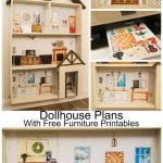 Dollhouse Pland With Free Furniture Printables 527x800