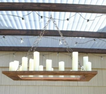 Feat Budget Friendly Outdoor Lighting A Copycat Restoration Hardware Project By The Creative Home Featured On @Remodelaholic