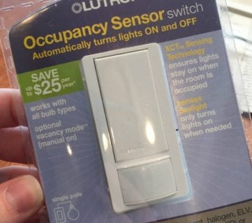Feat Lutron Sensor Switch 1