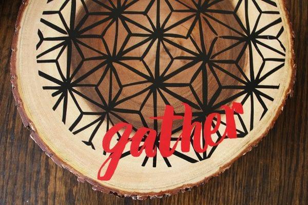 Vinyl On Trivet Gather09