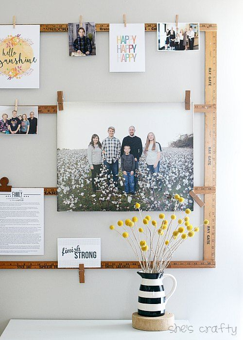 20 DIY Ideas For Vintage Wall Art She's Crafty Blog