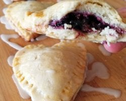 Mini Heart Shaped Blackberry Pies 4