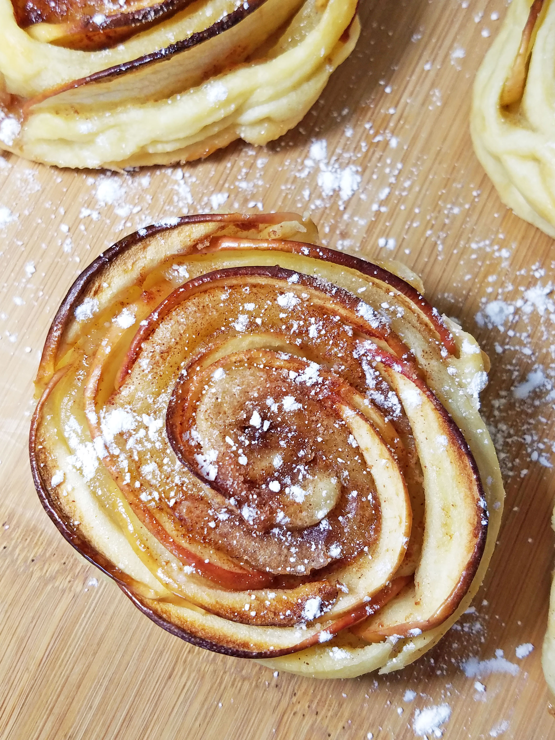 simply delicious mini rose shaped apple pies for dessert