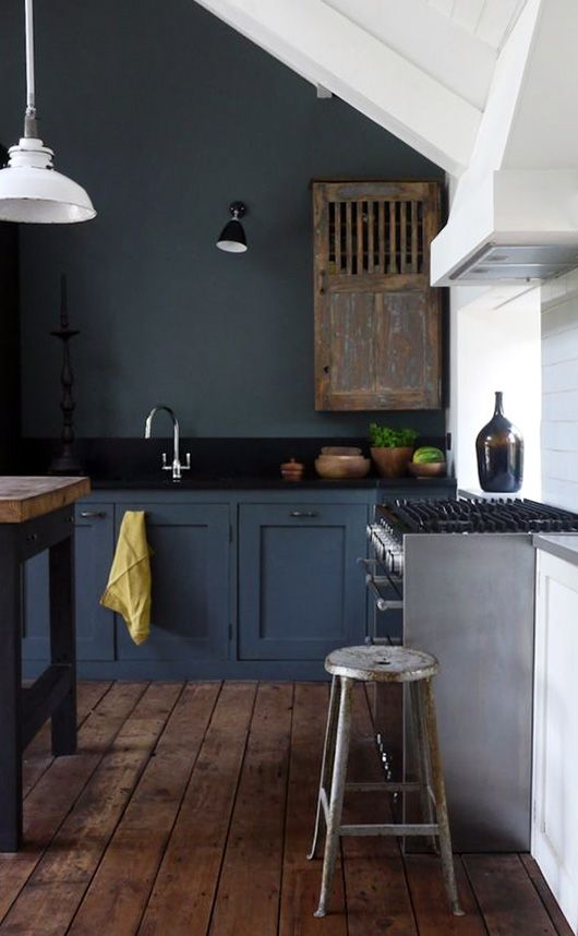 Remodelaholic Dark Kitchen Cabinet Inspiration And