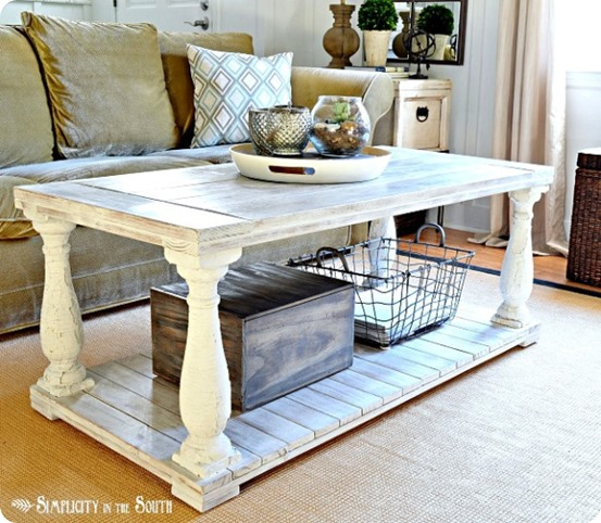 Decorate With Style 16 Chic Coffee Table Decor Ideas: 20 Unique DIY Coffee Table Ideas