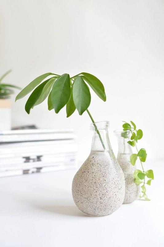 DIY Flower Vases Burkatron