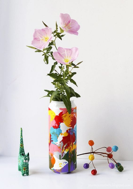 DIY Flower Vases Journey Into Creativity
