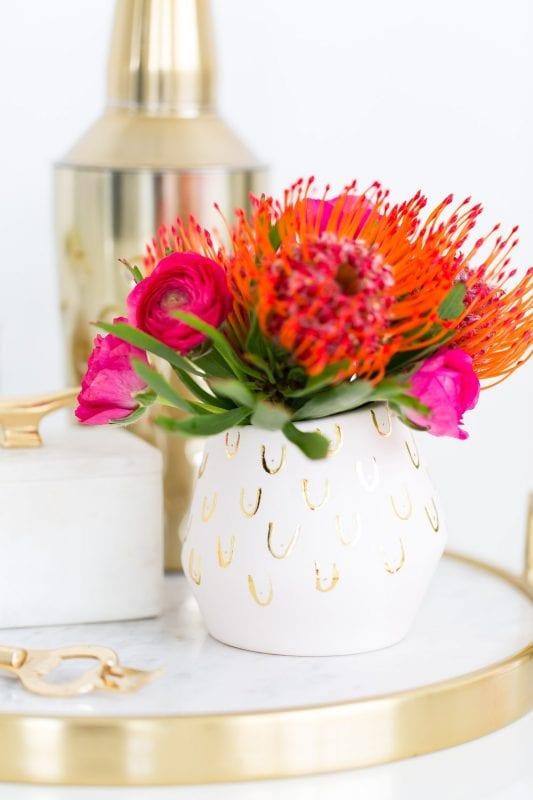 DIY Flower Vases Sugar & Cloth