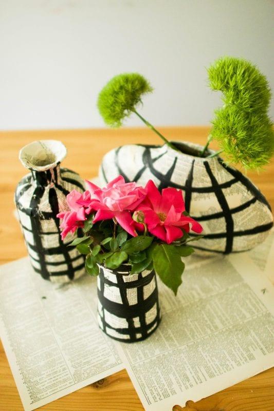 DIY Flower Vases The Urban Acres