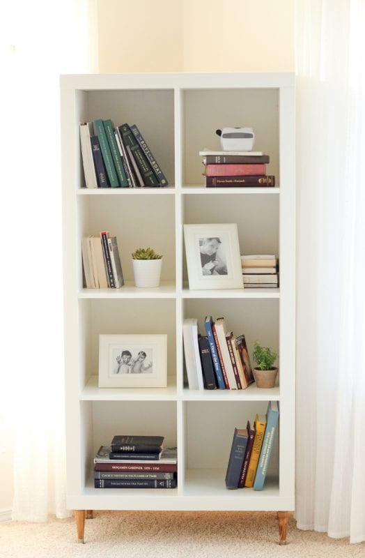 DIY Shelving Delia Creates