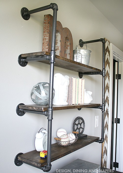 DIY Shelving Design, Dining And Diapers