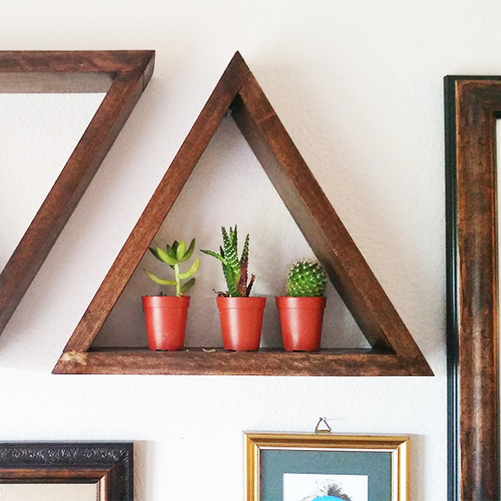 DIY Shelving Well Made Heart