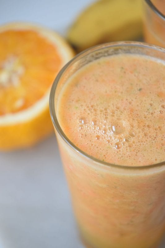 Mango Sunrise Smoothie   Healthy Breakfast Idea   Smoothie Recipe