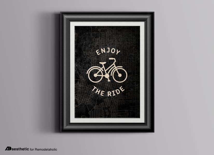 Enjoy The Ride Free Printable Graphic • AD Aesthetic For Remodelaholic • Horizontal