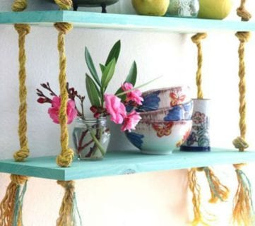 20 Beautiful DIY Shelving Ideas